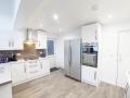 Spacious designer kitchen