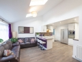 Shared house - open plan lounge/kitchen